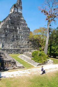 Tikal with a kid